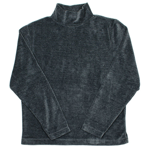 Our Legacy SPLASH - Turtleneck - Grey Melange Velour