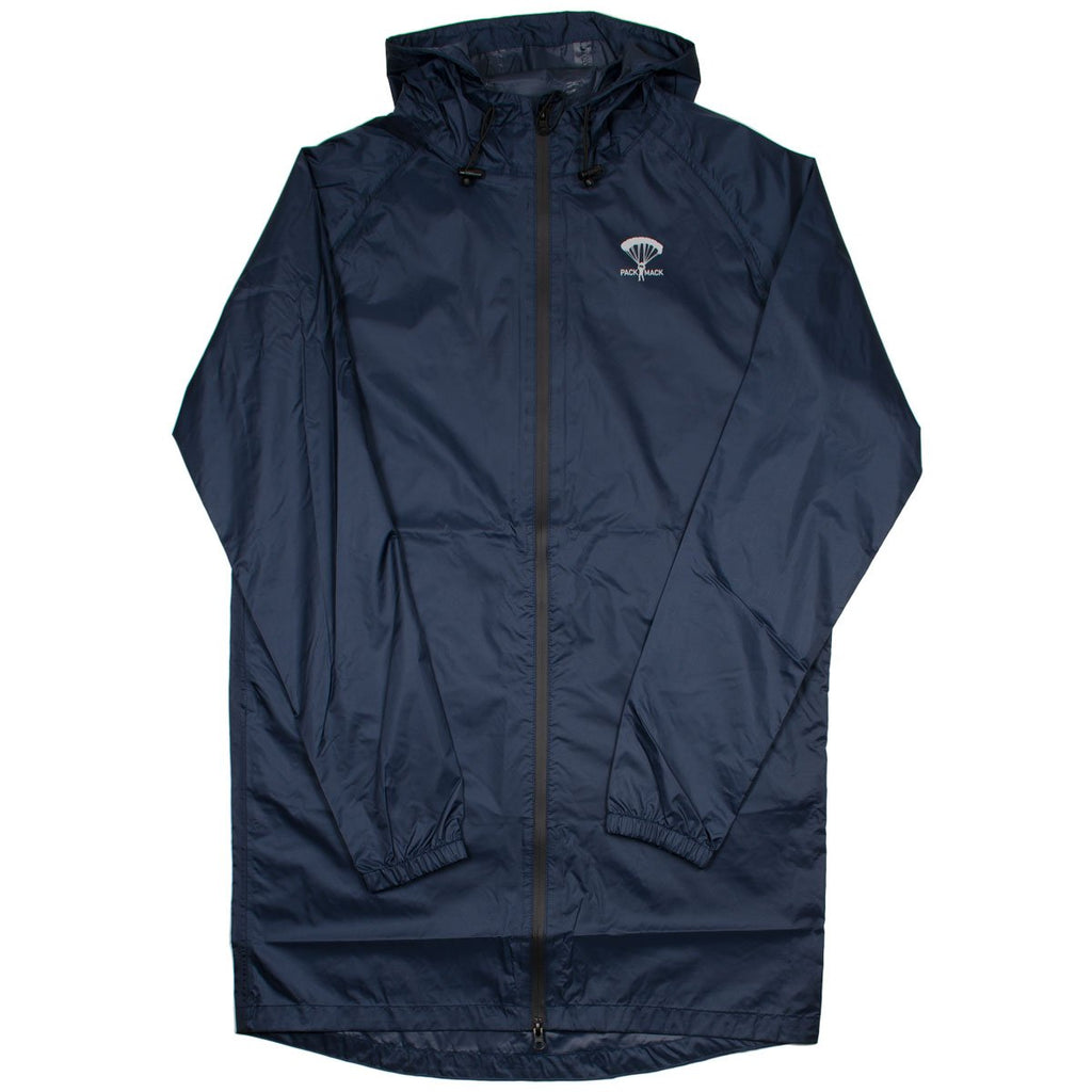 Packmack - #300 Parka Full Zip Raincoat - Navy