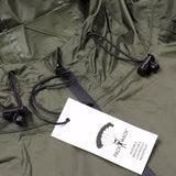 Packmack - #300 Parka Full Zip Raincoat - Olive Drab