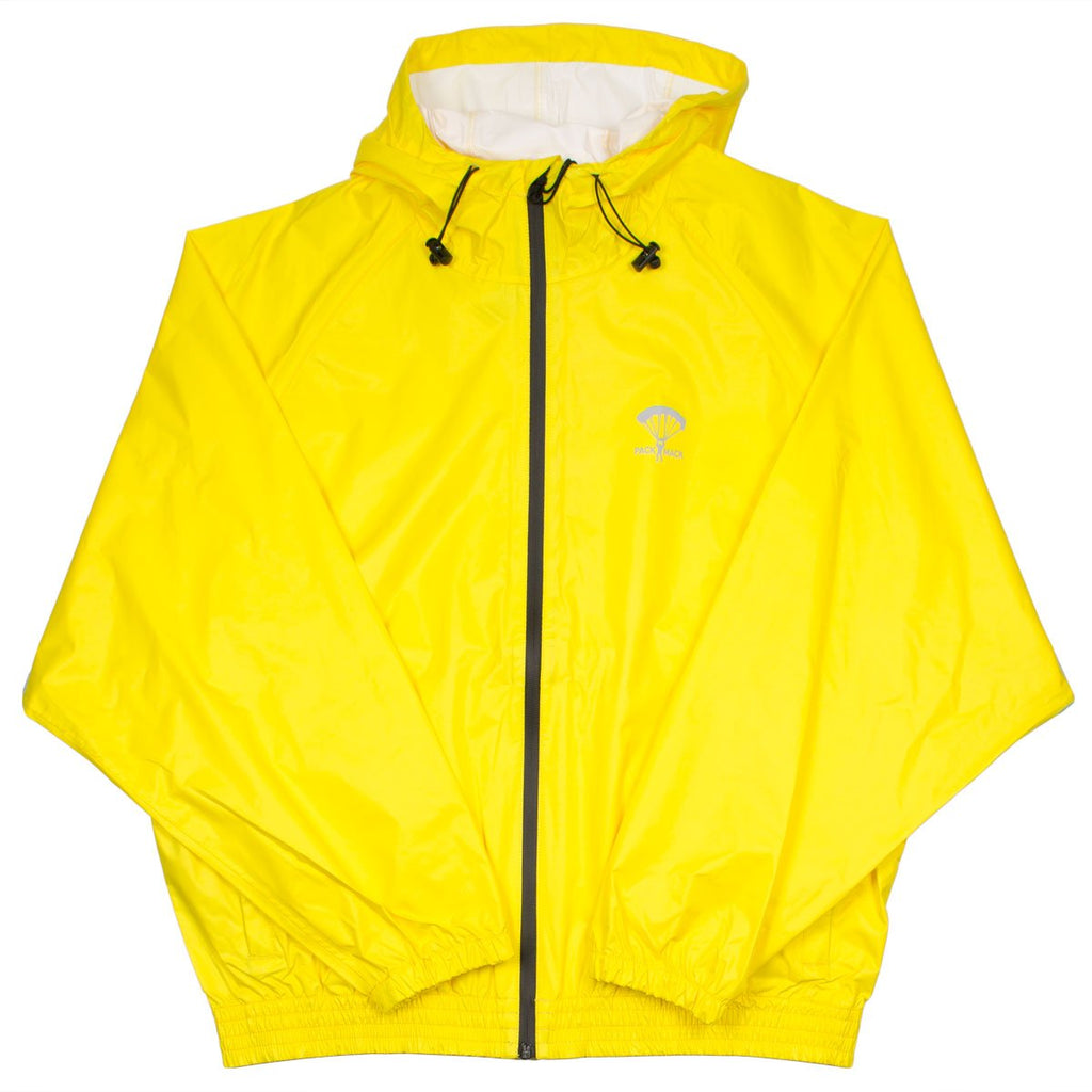 Packmack - #400 Parachute Full Zip Rain Jacket - Yellow Cab