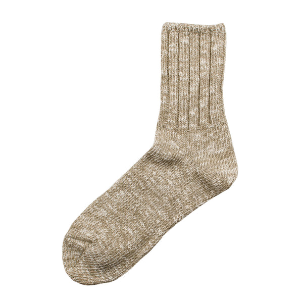 RoToTo - Low Gauge Slub Socks - Beige
