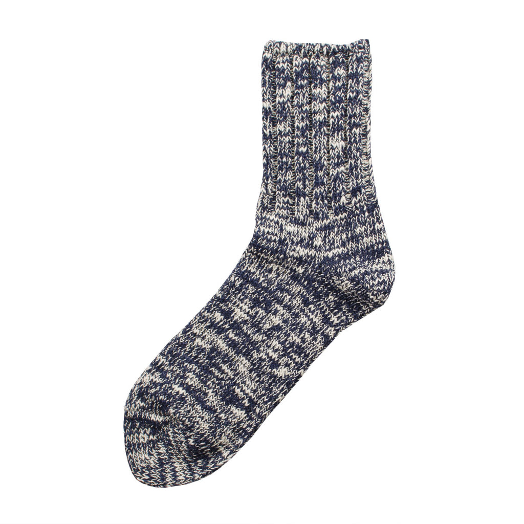 RoToTo - Low Gauge Slub Socks - Navy