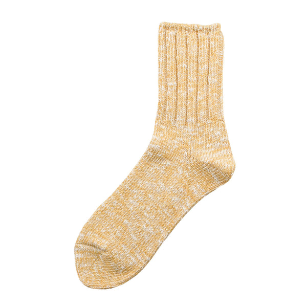 RoToTo - Low Gauge Slub Socks - Yellow