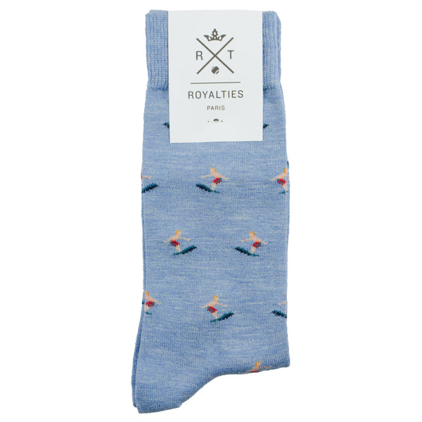 Royalties - Kelly Socks - Azur