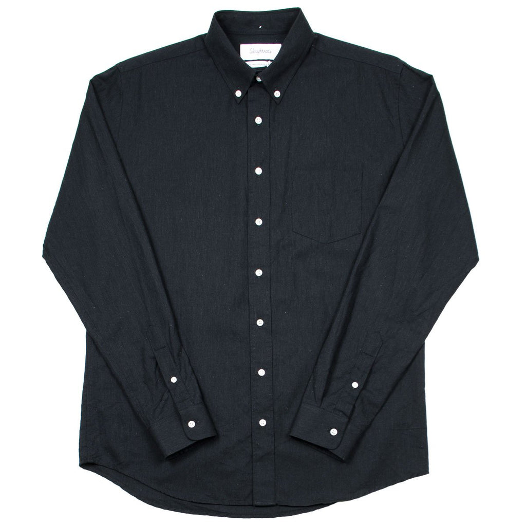 Schnayderman's - Cotton Melange One Shirt - Black