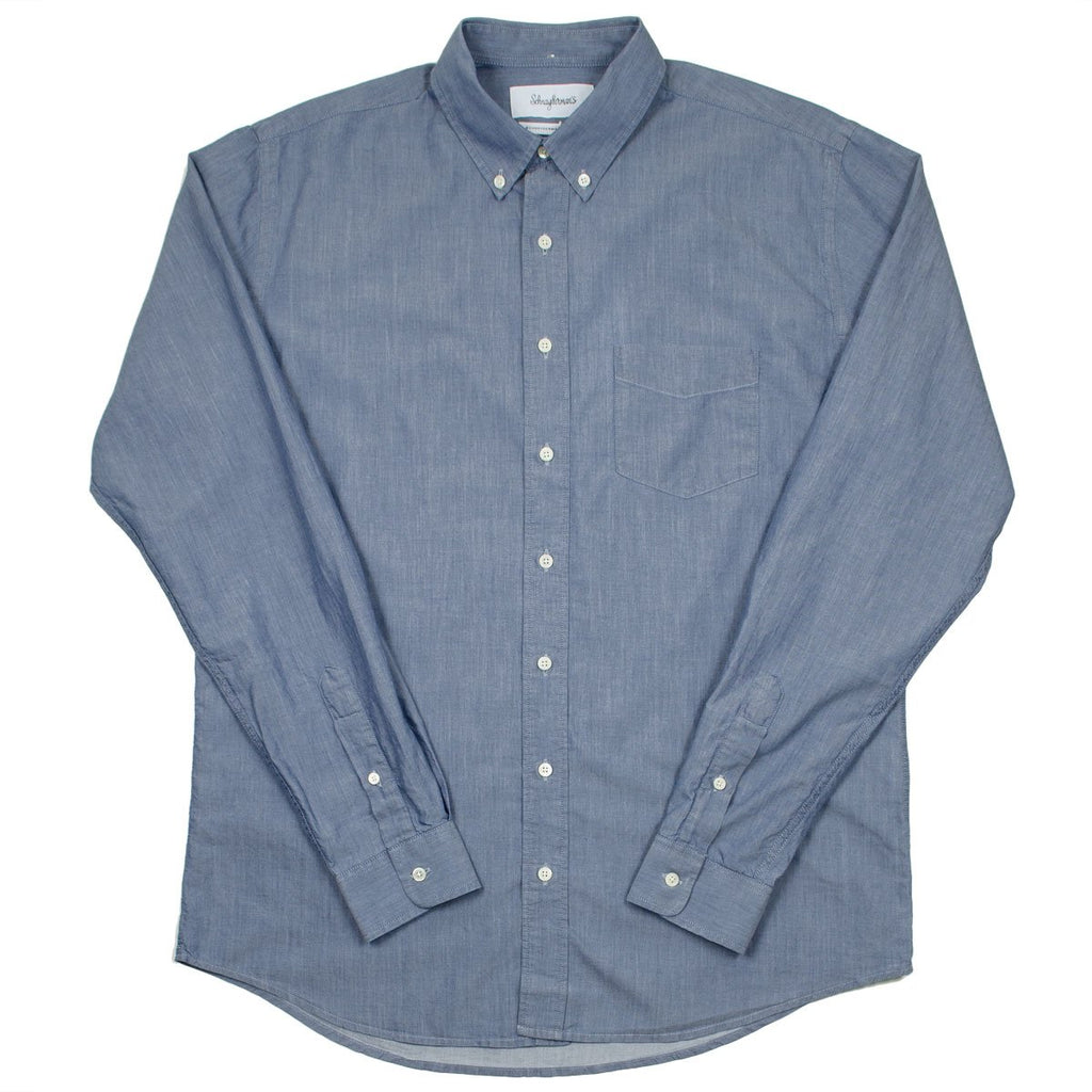 Schnayderman's - Leisure Shirt Mussola Twill One - Light Blue
