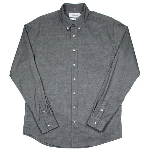 Schnayderman's - Leisure Shirt Twill One - Black