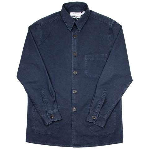 Schnayderman's - Overdyed Overshirt One - Dark Blue