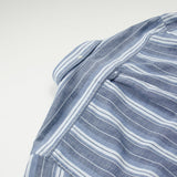 Schnayderman's - Oxford Indigo Stripe Shirt - Blue & White