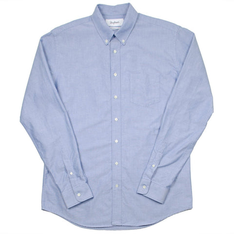 Schnayderman's - Oxford One Shirt - Blue
