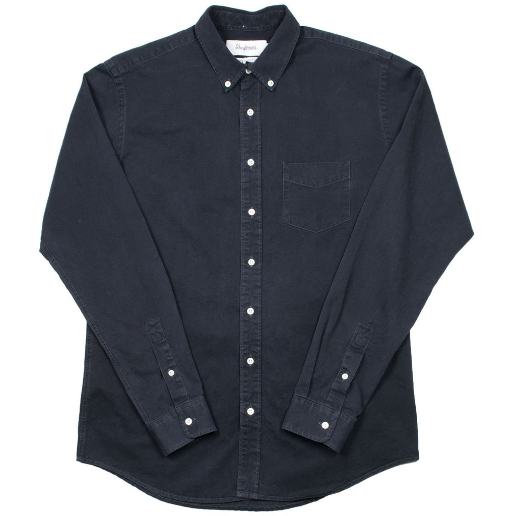 Schnayderman's - Summer Denim Shirt - Charcoal