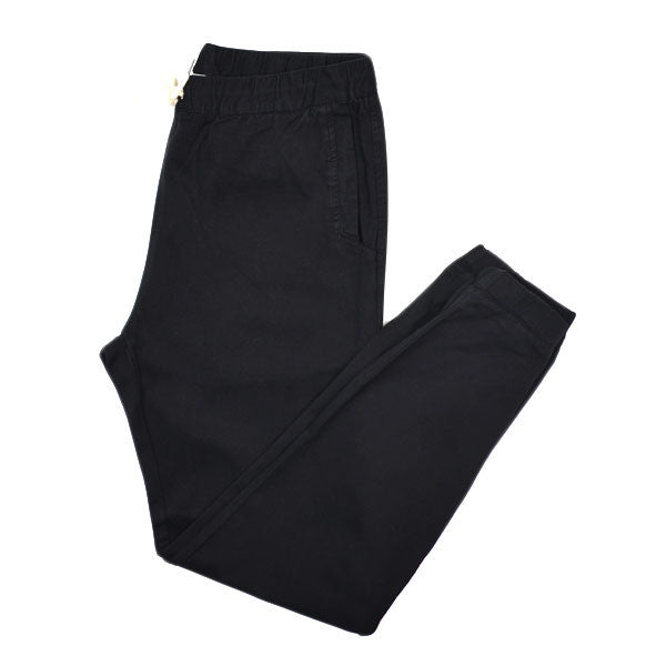 Soulland - Bomholt Pants with Drawstring - Black
