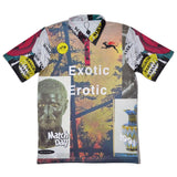 Soulland - Brother Play Polo Shirt with Digital Print - Multicolor