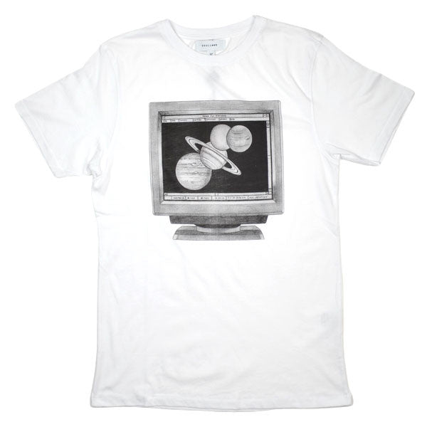 Soulland - Computer T-shirt - White