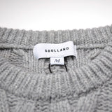 Soulland - Gaedicke Cable Knit Sweater - Grey
