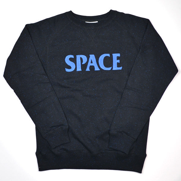 Soulland - Gravity Sweatshirt with Slubs - Black