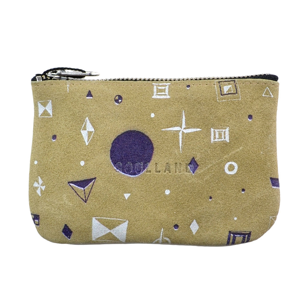 Soulland - Joan Wallet - Beige with Allover Print