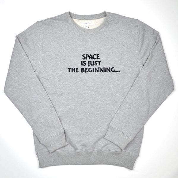 Soulland - Peci Sweatshirt with Embroidery - Grey