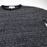 Soulland - Ricketts Honeycomb Sweater - Black / Grey