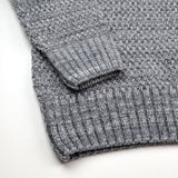 Soulland - Ricketts Honeycomb Sweater - Grey