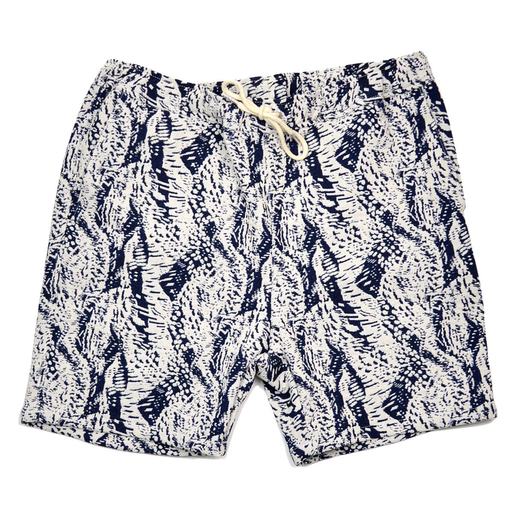 Soulland - Schredder Shorts with Drawstring - Navy