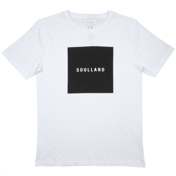 Soulland - Soulsquare T-shirt with Print - White