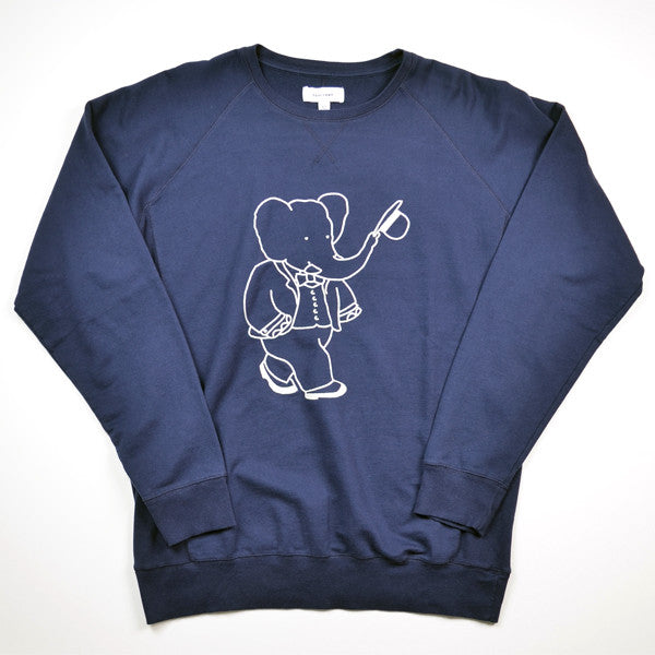 Soulland – Babar Sweat Special – Navy / Off White