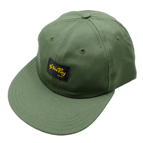 Stan Ray - Ball Cap - Olive Sateen