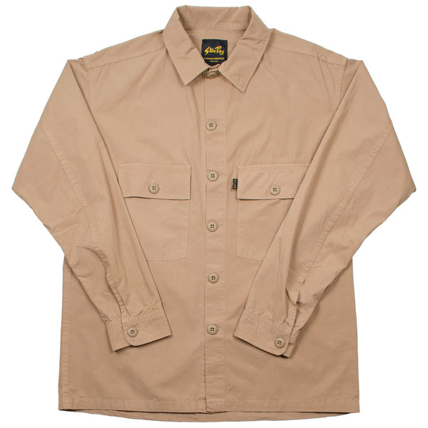 Stan Ray - CPO Poplin Shirt - Break Sand