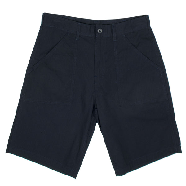 Stan Ray - Fatigue Short - Stonewashed Navy Ripstop
