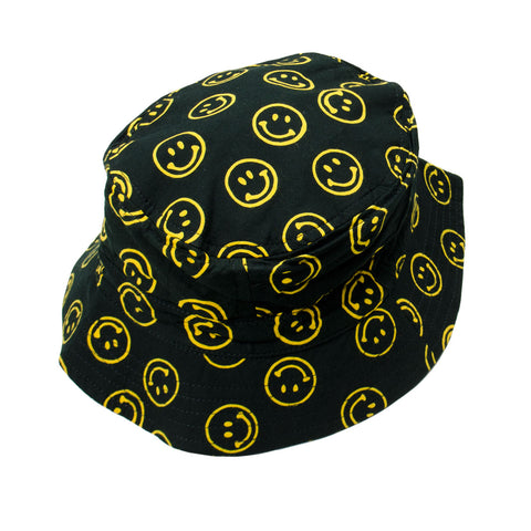 Stan Ray - Fillmore Bucket Hat - Smiley Batik Black