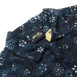 Stan Ray - Kelapa Short-Sleeved Shirt - Black Paisley