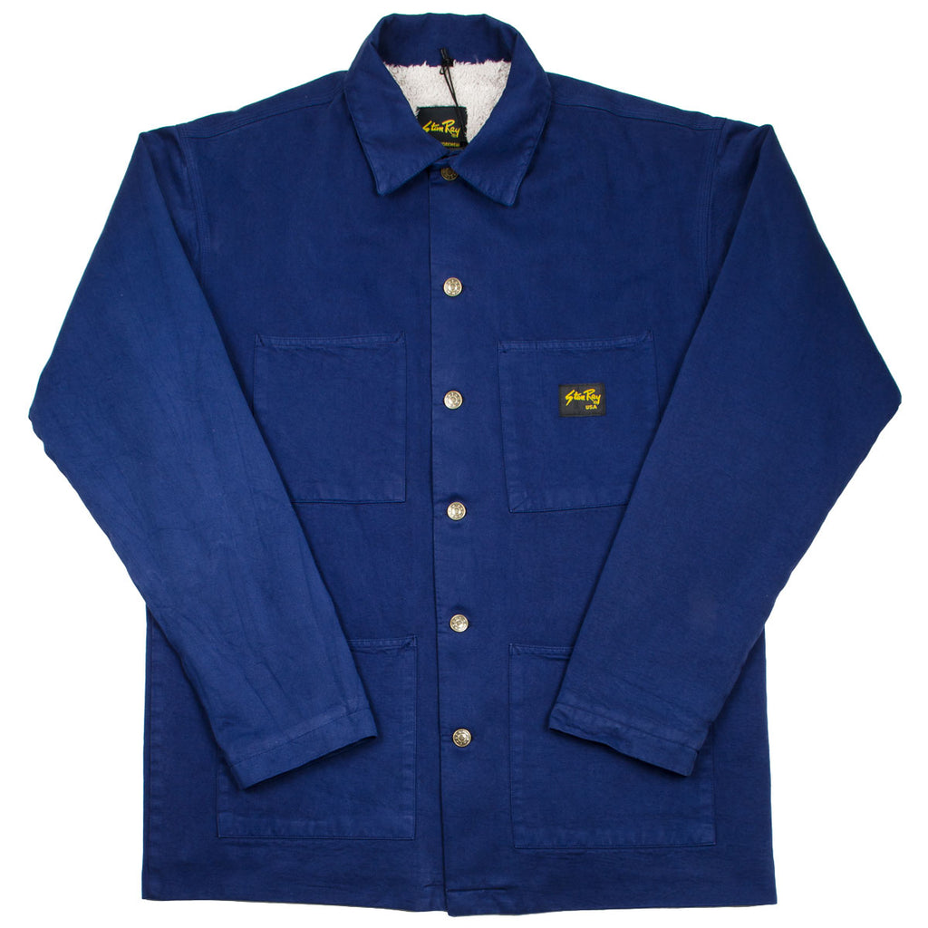 Stan Ray - Lined Shop Jacket - Navy