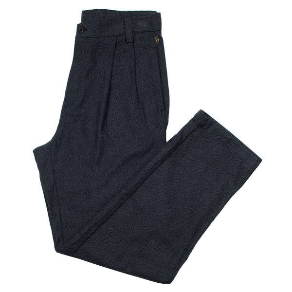 Stan Ray - Pleated Chino - Black Twillmax