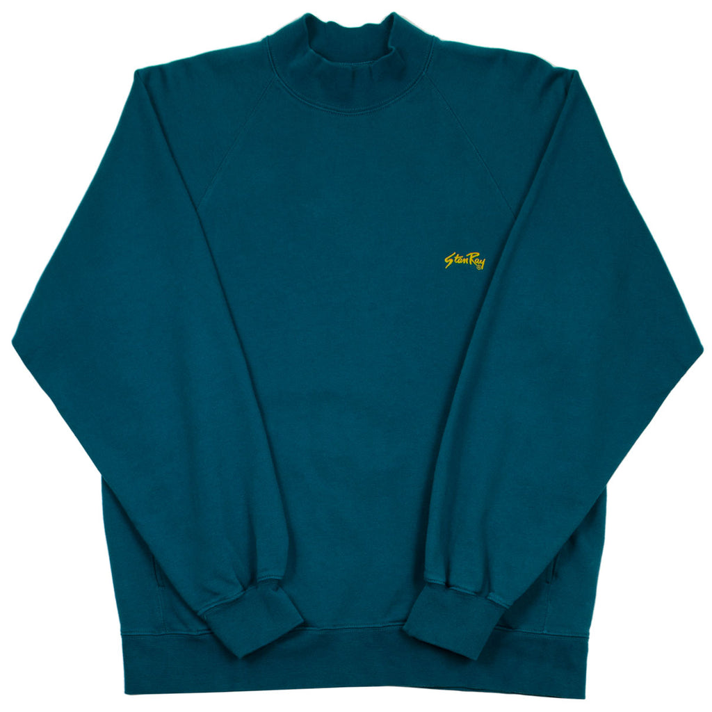 Stan Ray - Roll Neck Sweat - Carbon Green