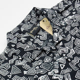 Stan Ray - Short-Sleeved Shirt - Tom Tom Batik Black