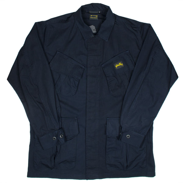 Stan Ray - Tropical Jacket - Stonewashed Navy Ripstop