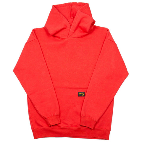 Stan Ray - Workers Hooded Sweat - Carpet Red