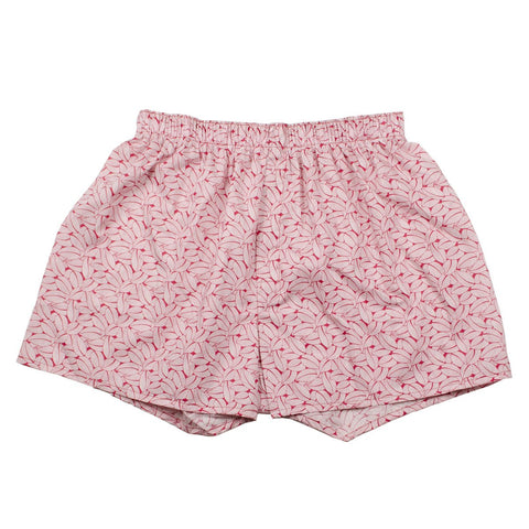 Sunspel - Boxer Shorts - Liberty Madder Leaves Print