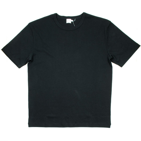 Sunspel - Boxy Fit Heavyweight T-shirt - Black