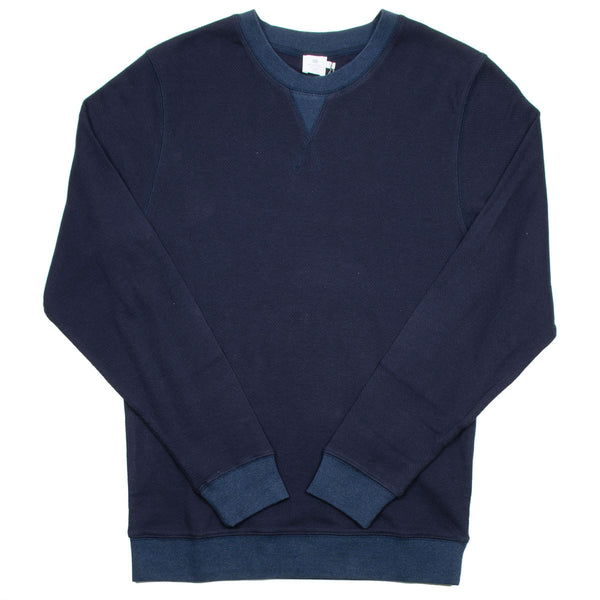Sunspel - Cellulock Sweater - Navy