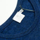 Sunspel - Crewneck Jumper - Masonry Blue