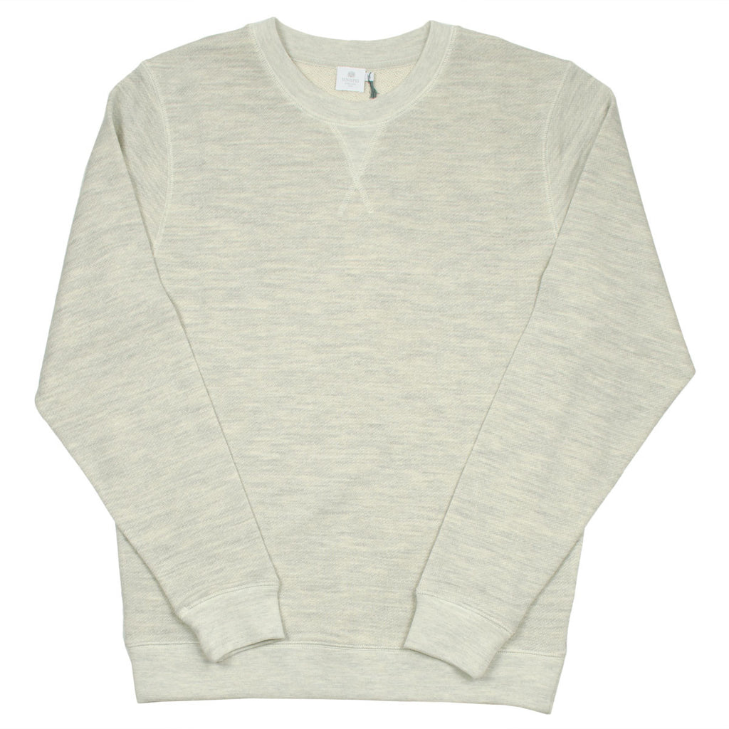 Sunspel - Crewneck Sweatshirt - Archive Grey