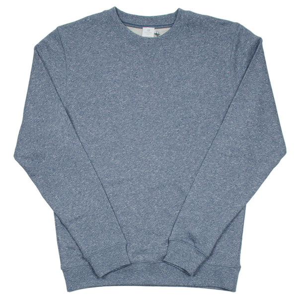 Sunspel - Crewneck Sweatshirt - Blue Melange