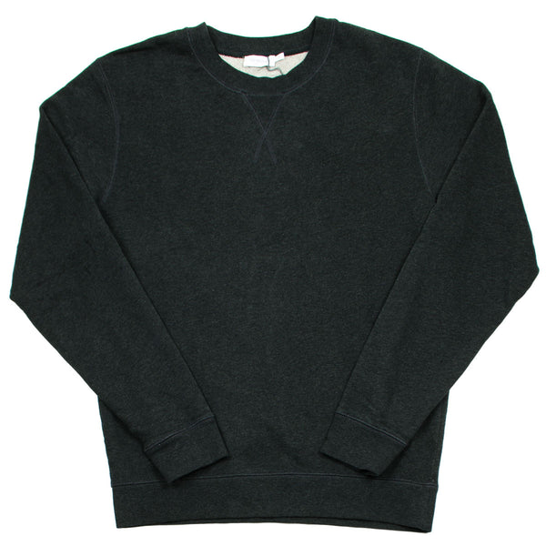 Sunspel - Loopback Sweatshirt - Black Marl