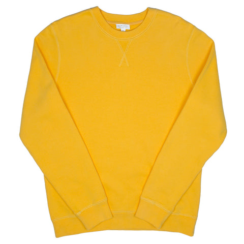 Sunspel - Loopback Sweatshirt - Booth Ochre