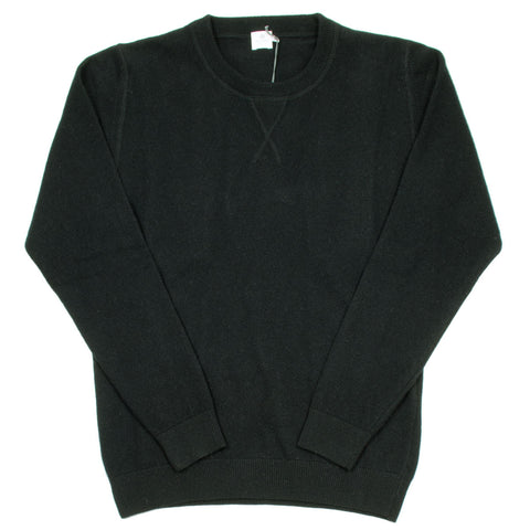 Sunspel - Luxury Wool Sweatshirt - Black