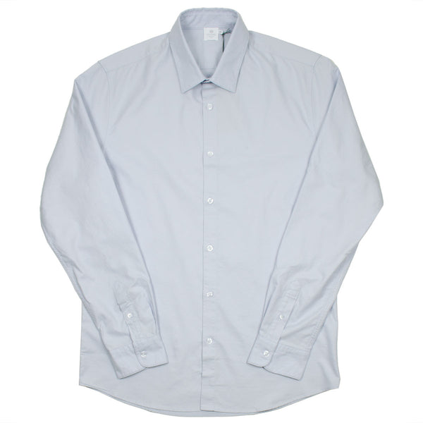 Sunspel - Oxford Shirt - Grey Dawn