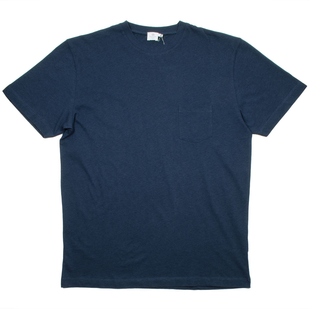 Sunspel - Relaxed Fit T-shirt - Navy