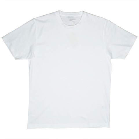 Sunspel - Short Sleeve Riviera Crew Neck T-shirt - White